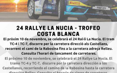 24 RALLYE LA NUCIA – TROFEO COSTA BLANCA